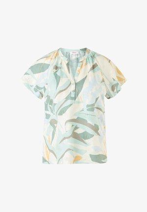 AUSBRENNERMUSTER - Print T-shirt - cream aop