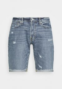 Abercrombie & Fitch - Jeansshorts - medium destroy - 3