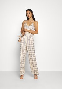 Scotch & Soda - HIGH SUMMER - Jumpsuit - off white/blue - 1