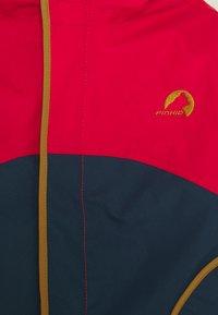 Finkid - NALLE MUKKA UNISEX - Hardshell jacket - navy/cinnamon - 2