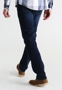 Pier One - BASIC - Straight leg jeans - dark blue denim - 2