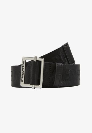 LOGO BELT - Belt - black