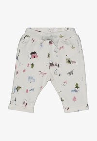 Noppies - PANTS REGULAR COVENDALE BABY - Stoffhose - whisper white melange - 2