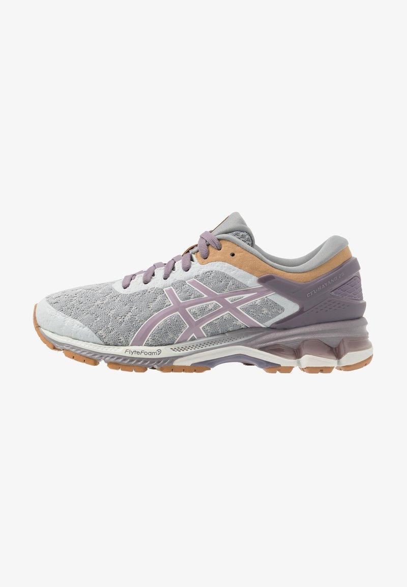 ASICS - GEL-KAYANO 26 - Obuwie do biegania treningowe - glacier grey/lavender grey
