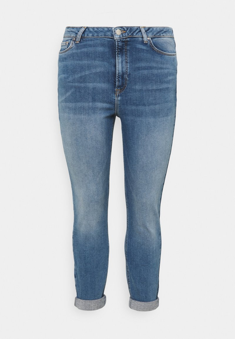 Even&Odd Curvy - Jeans Skinny Fit - light blue denim