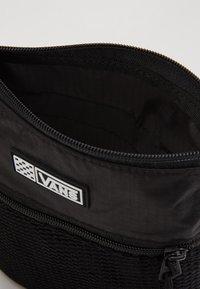 Vans - UA EASY GOING CROSSBODY - Across body bag - black - 4