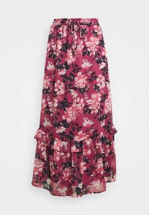 VIFALIA WIDE MAXI SKIRT - Maxi skirt - pink rose