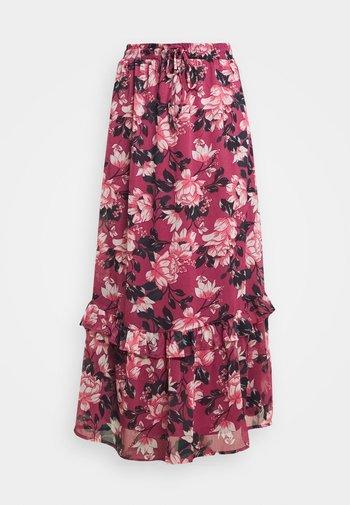 VIFALIA WIDE MAXI SKIRT - Jupe longue - pink rose