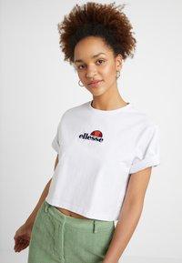 Ellesse - FIREBALL - T-shirts print - white - 0