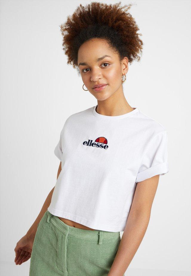 FIREBALL - Print T-shirt - white