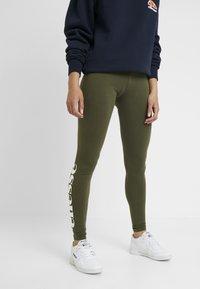 Ellesse - SOLOS - Leggings - Trousers - khaki - 0