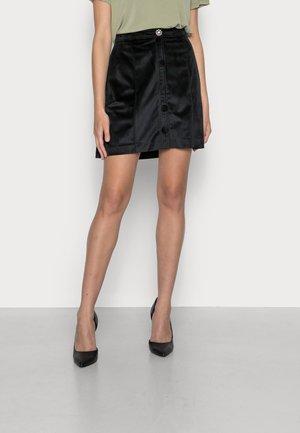 EVELOURS  - Mini skirt - black