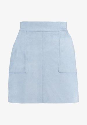 TARA SKIRT - A-line skjørt - dusty blue