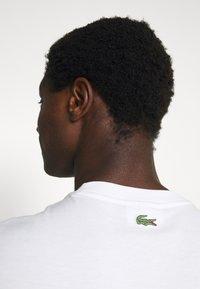 Lacoste - T-shirt print - blanc - 4