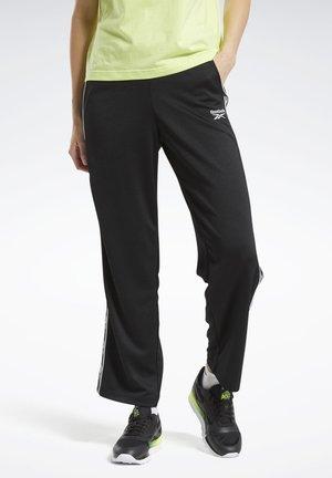 CLASSICS VECTOR TAPE JOGGERS - Teplákové kalhoty - black