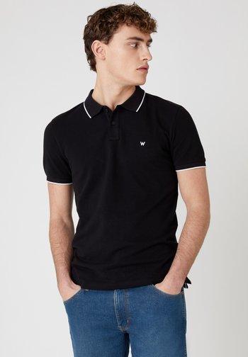 SS PIQUE - Polo shirt - black