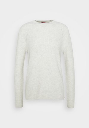 Jumper - off-white melange