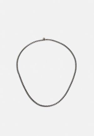 BOX CHAIN UNISEX - Necklace - silver-coloured