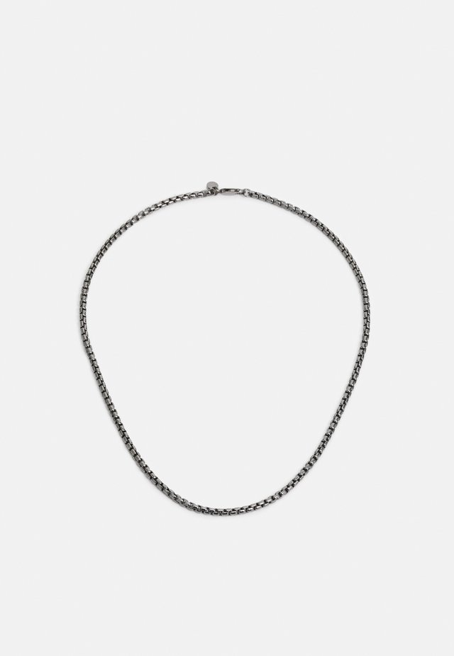 BOX CHAIN UNISEX - Collana - silver-coloured
