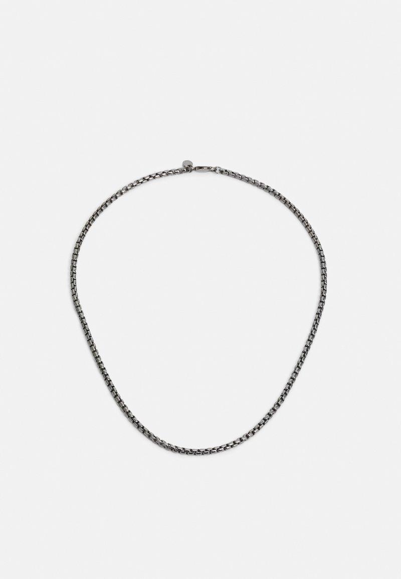 Tateossian - BOX CHAIN UNISEX - Necklace - silver-coloured