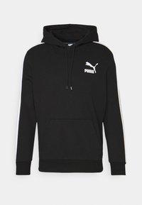 Puma - ICONIC HOODIE - Sweatshirt - black - 0