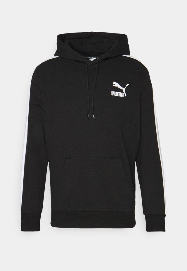 ICONIC HOODIE - Sweatshirt - black