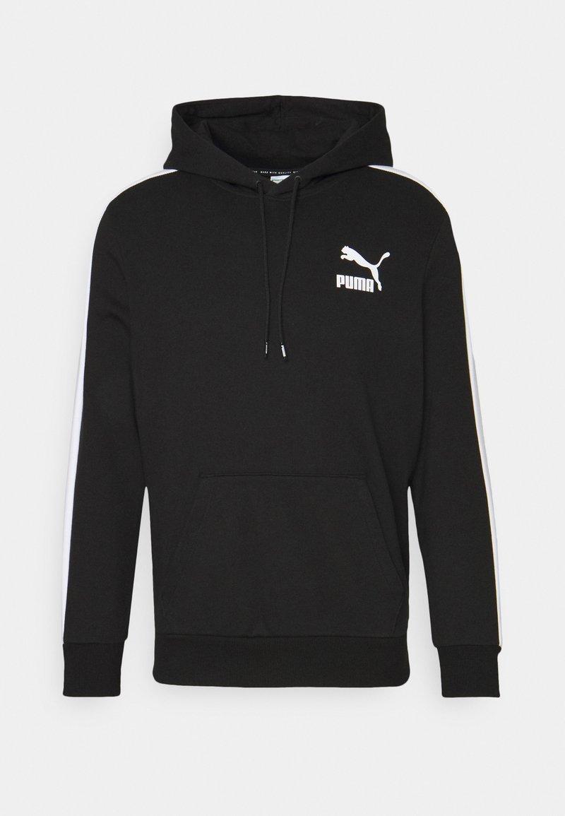 Puma - ICONIC HOODIE - Sweatshirt - black