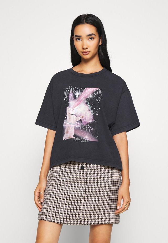 ODYSSE - T-Shirt print - black vintage