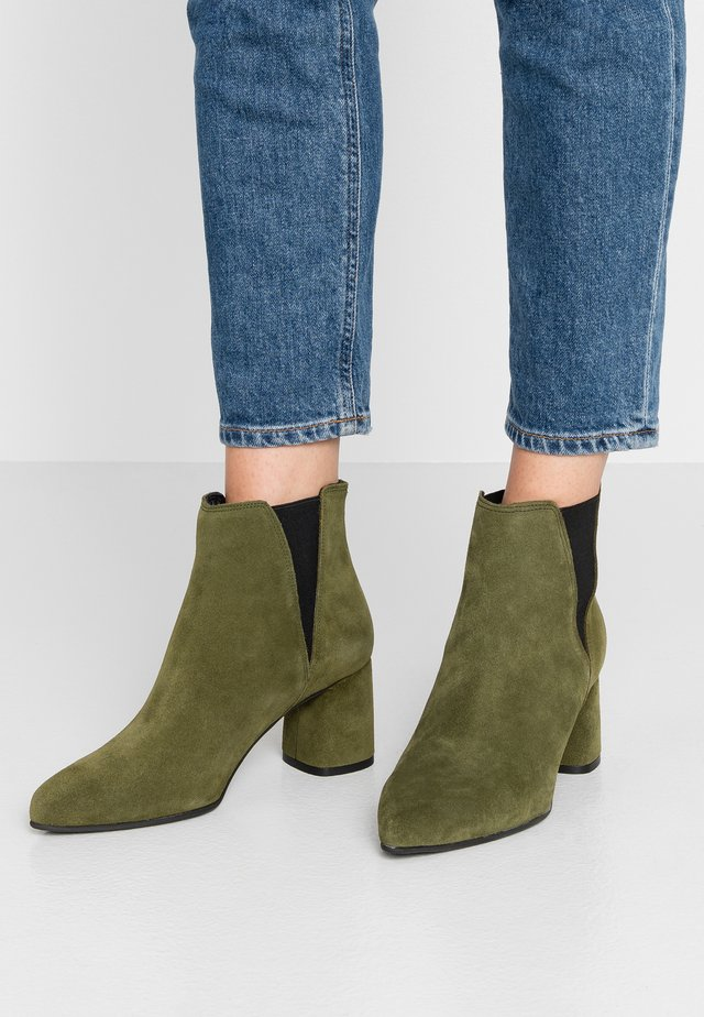 BIACHERISE - Ankle boots - army green
