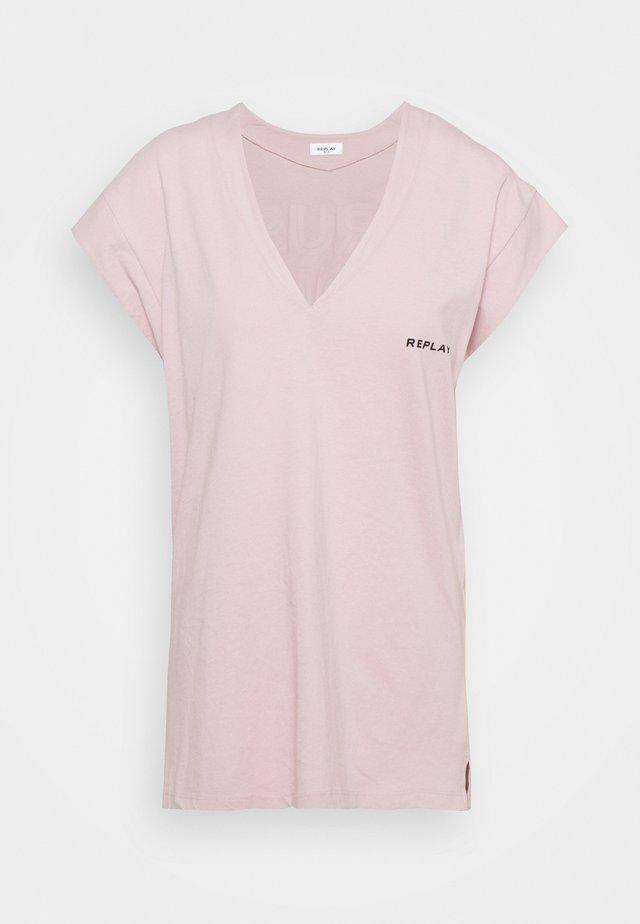 Camiseta estampada - quartz rose