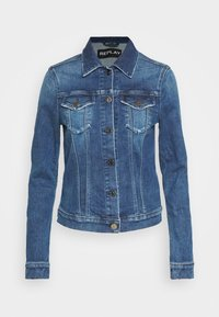 Replay - JACKETS LIGHTWEIGHTS - Denim jacket - medium blue - 4