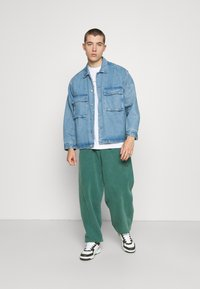 BDG Urban Outfitters - JOGGER PANT - Tracksuit bottoms - deep grass green - 1