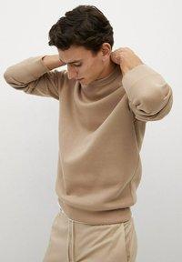 Mango - Sweater - mittelbraun - 4
