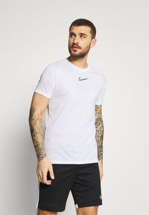 DRY - T-shirt con stampa - white/black