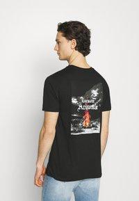 274 - CACTUS FLAME TEE - Print T-shirt - black - 6