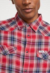 Wrangler - WESTERN - Shirt - red - 5