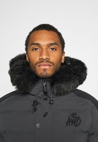 Kings Will Dream - PUFFER BOMBER JACKET - Winterjas - charcoal - 3