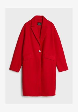 Classic coat - red