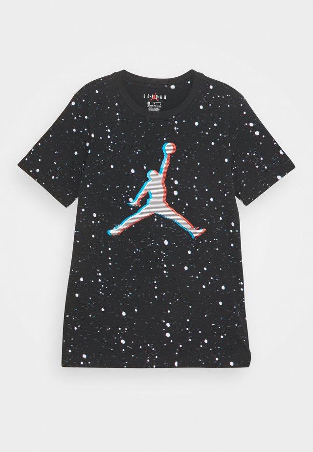 JUMP DIMENSION TEE - Camiseta estampada - black