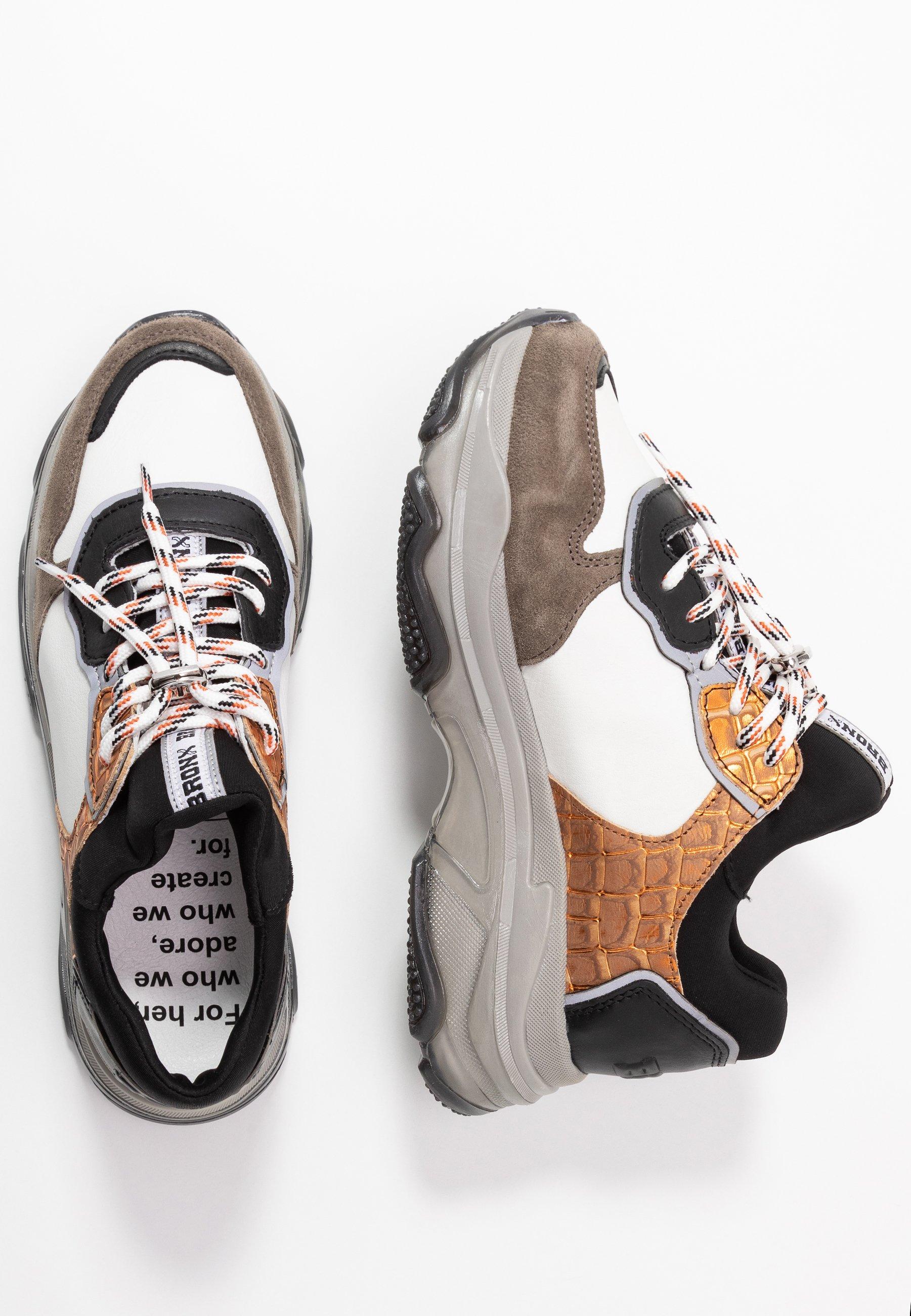 BAISLEY Sneakers dark greywhiteblackorange