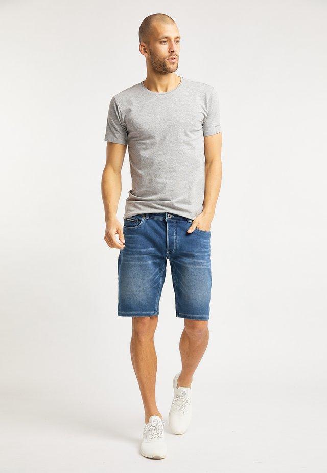 T-shirts basic - grau melange