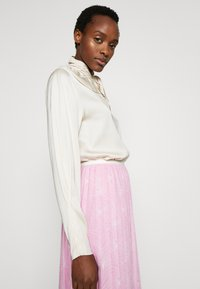 See by Chloé - A-line skirt - pink/white - 3