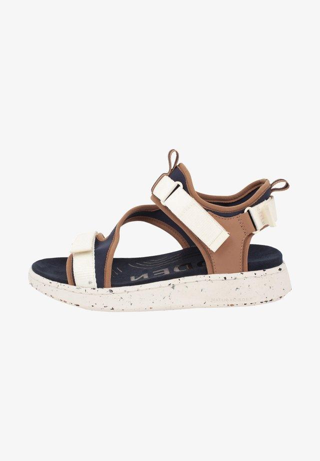 EMILIE - Korkeakorkoiset sandaalit - blau