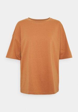 VIPONDA OVERSIZED - Basic T-shirt - pecan brown