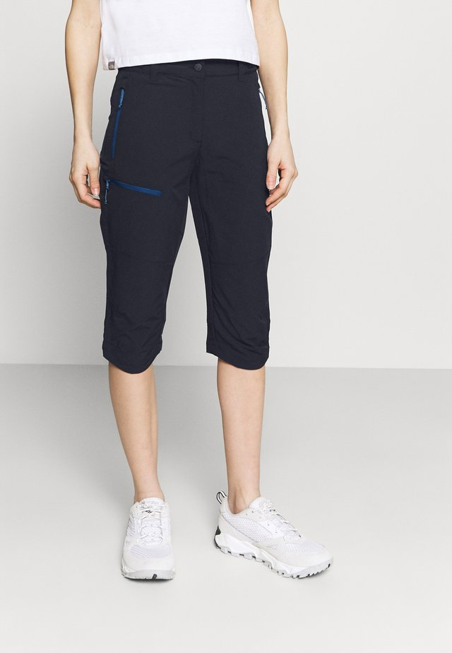 BEATTIE - Pantalon 3/4 de sport - dark blue