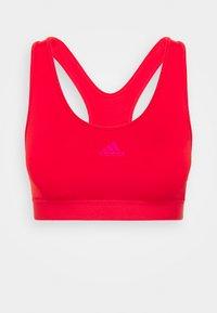 adidas Performance - BRA - Sport-bh met medium support - vivid red/team real magenta - 4