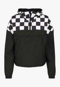 Urban Classics - DAMEN - Summer jacket - black/white - 0
