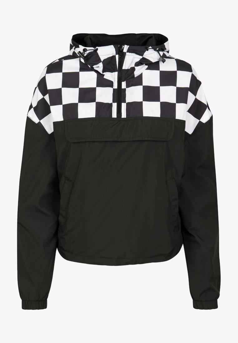 Urban Classics - DAMEN - Summer jacket - black/white