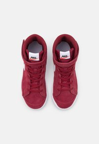 Nike Sportswear - BLAZER MID '77 UNISEX - Sneakers hoog - team red/white/black - 3