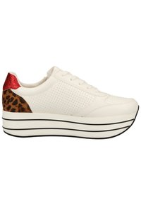 s.Oliver - S.OLIVER SNEAKER - Trainers - white punch 105 - 5